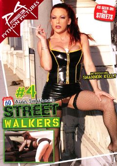 "Adult entertainment movie ""Street Walkers 4"" starring Shannon Kelly, Carrie Ann & Ginger Lea. Produced by Python Pictures."
