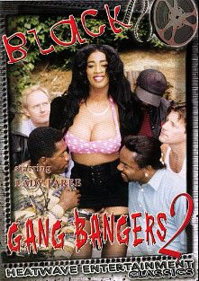 Black Gang Bangers 2, starring Lady Paree, Jimmy Z., Jeff Coldwater, Jack Baker, Dick Nasty, F.M. Bradley and Dave Hardman, produced by Heatwave Entertainment.