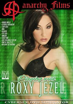 "Adult entertainment movie ""Playing With Roxy Jezel"" starring Roxy Jezel. Produced by Anarchy Films."
