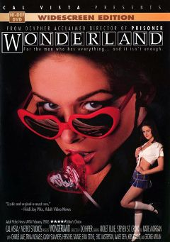 "Adult entertainment movie ""Wonderland"" starring Trina Michaels, No Name Jane & Kris Knight. Produced by Metro Media Entertainment."