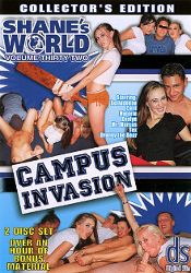 Straight Adult Movie Shane's World 32: Campus Invasion