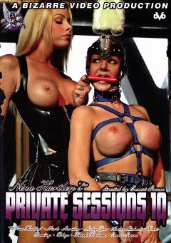 "Adult entertainment movie ""Nina Hartley's Private Sessions 10"" starring Lezley Zen, Nicole Sheridan & Amber Michaels. Produced by Bizarre Video Productions."