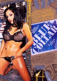 "Adult entertainment movie ""Blue Collar"" starring Mercedez (I), Jerry Kovacs & Taylor Hilton. Produced by Vivid Entertainment."