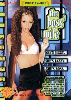 "Adult entertainment movie ""The Boss' Wife"" starring Heather Hunter, Joe Bonner & Billy D.. Produced by Vivid Entertainment."