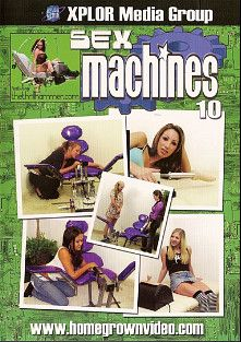 Sex Machines 10, starring Jadelyn Santana, Gianna Lynn, Leah Luv, Kat Vixen, Chloe Morgan, Moxxie Maddron, Zoe Matthews, Myah Monroe and Daphne Rosen, produced by Homegrown Video.