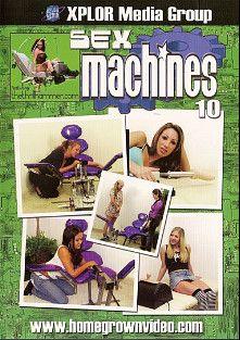 Sex Machines 10, starring Jadelyn Santana, Gianna Lynn, Leah Luv, Kat Vixen, Chloe Morgan, Moxxie Maddron, Zoe Matthews, Myah Monroe and Daphne Rosen, produced by Homegrown Video.