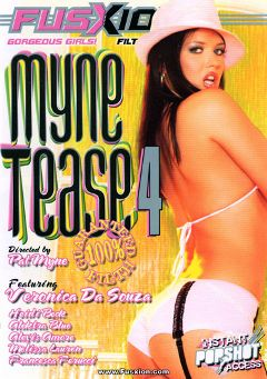 "Adult entertainment movie ""Myne Tease 4"" starring Alektra Blue, Veronica Da Souza & Melissa Lauren. Produced by Metro Media Entertainment."