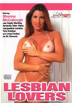 "Adult entertainment movie ""Lesbian Lovers"" starring Shanna McCullough, Stephanie Bishop & Long Chainy. Produced by VCX Home Of The Classics."