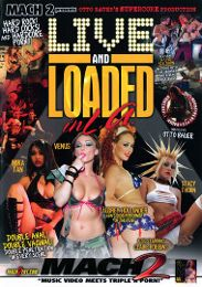 """Featured Studio - Supercore presents the adult entertainment movie """"Live And Loaded In L.A""""."""