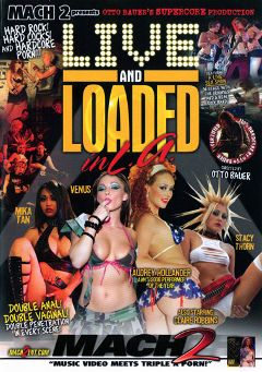 "Adult entertainment movie ""Live And Loaded In L.A"" starring Staci Thorn, Audrey Hollander & Mika Tan. Produced by Supercore."