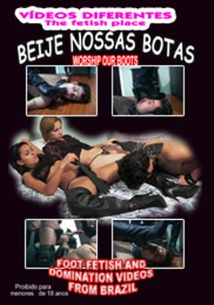 "Adult entertainment movie ""Beije Nossas Botas"". Produced by Video Diferentes."