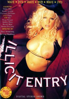 "Adult entertainment movie ""Illicit Entry"" starring Jill Kelly, Kia & Shane Hunter. Produced by Vivid Entertainment."