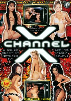 "Adult entertainment movie ""Channel X"" starring Sydnee Steele, Inari Vachs & T.J. Hart. Produced by Vivid Entertainment."