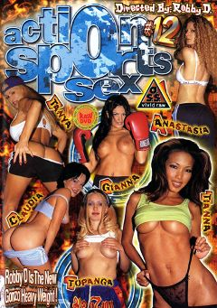 "Adult entertainment movie ""Action Sports Sex 12"" starring Annie Body, Claudia Adkins & Shelbee Myne. Produced by Vivid Entertainment."