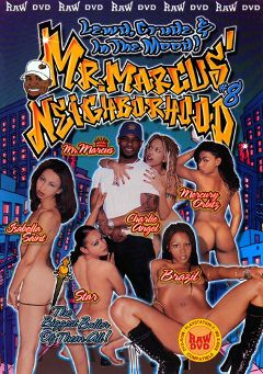 "Adult entertainment movie ""Mr.Marcus' Neighborhood 8"" starring Mercury Orbitz, Brazil & Charlie Angel. Produced by Vivid Entertainment."