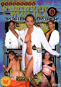 "Adult entertainment movie ""The Watcher 8"" starring Jane Lix, Charlie Angel & Bunny Luv. Produced by Vivid Entertainment."