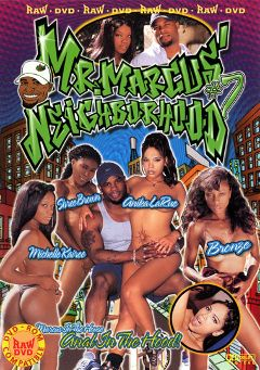 "Adult entertainment movie ""Mr.Marcus' Neighborhood 7"" starring Anika Larue, Frankie LaRue & Bronze. Produced by Vivid Entertainment."