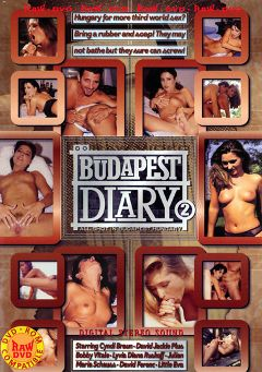 "Adult entertainment movie ""Budapest Diary 2"" starring Cyndi Braun, Bobby Vitale & Diana Ruskof. Produced by Vivid Entertainment."