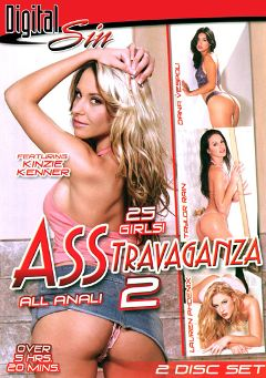 "Adult entertainment movie ""Asstravaganza 2"" starring Lauren Phoenix, Katja Kassin & Taylor Rain. Produced by Digital Sin."