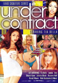 "Adult entertainment movie ""Under Contract:  Tia Bella"" starring Tia Bella, Janine & Roxanne Hall. Produced by Vivid Entertainment."