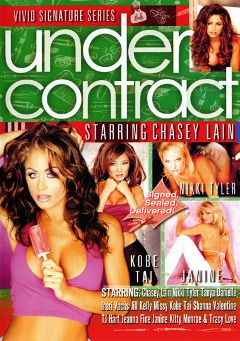 "Adult entertainment movie ""Under Contract:  Chasey Lain"" starring Inari Vachs, Chasey Lain & T.J. Hart. Produced by Vivid Entertainment."