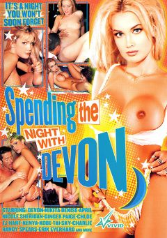 "Adult entertainment movie ""Spending The Night With Devon"" starring Devon, Nikita Denise & Nicole Sheridan. Produced by Vivid Entertainment."