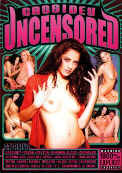 "Adult entertainment movie ""Cassidey Uncensored"" starring Cassidey, Ava Vincent & Shelbee Myne. Produced by Vivid Entertainment."