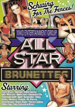 "Adult entertainment movie ""All Star Brunettes"" starring Violet Love, Alexandra Silk & Stephanie Swift. Produced by Vivid Entertainment."