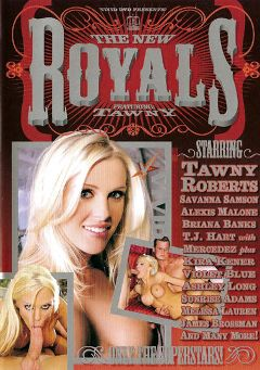 "Adult entertainment movie ""The New Royals:  Tawny Roberts"" starring Tawny Roberts, T.J. Hart & Kira Kener. Produced by Vivid Entertainment."