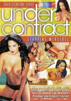 "Adult entertainment movie ""Under Contract:  Mercedez"" starring Jesse V., Mercedez (I) & Nicole Sheridan. Produced by Vivid Entertainment."