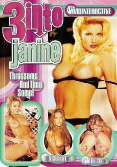 "Adult entertainment movie ""3 Into Janine"" starring Janine, Misty Rain & Jill Kelly. Produced by Vivid Entertainment."