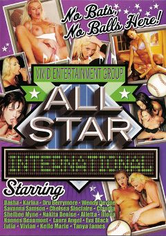 "Adult entertainment movie ""All Star International"" starring Nikita Denise, Dru Berrymore & Shelbee Myne. Produced by Vivid Entertainment."
