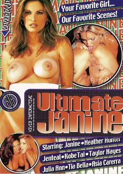 "Adult entertainment movie ""Ultimate Janine"" starring Janine, Taylor Hayes & Julia Ann. Produced by Vivid Entertainment."