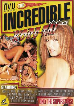 "Adult entertainment movie ""The Incredible Kobe Tai"" starring Nicole Sheridan, Kobe Tai & Julia Ann. Produced by Vivid Entertainment."