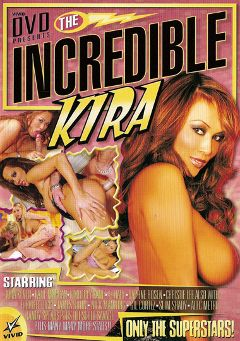 "Adult entertainment movie ""The Incredible Kira"" starring Kira Kener, Flower Tucci & Katie Morgan. Produced by Vivid Entertainment."