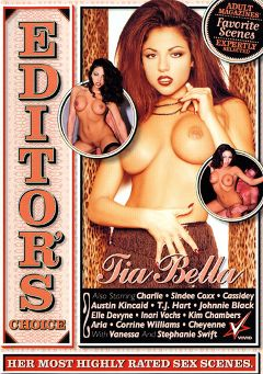 "Adult entertainment movie ""Editor's Choice:  Tia Bella"" starring Tia Bella, Inari Vachs & Stephanie Swift. Produced by Vivid Entertainment."