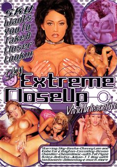 "Adult entertainment movie ""Sky Extreme Close Up"" starring Sky, Kobe Tai & Dayton Rains. Produced by Vivid Entertainment."