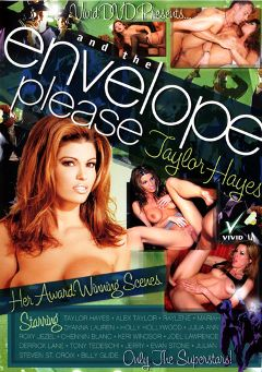 "Adult entertainment movie ""And The Envelope Please Taylor Hayes"" starring Roxy Jezel, Raylene & Taylor Hayes. Produced by Vivid Entertainment."