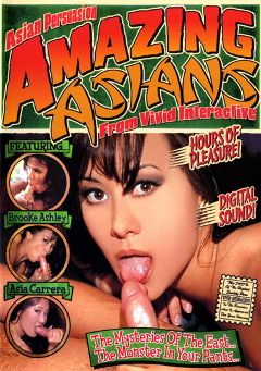 "Adult entertainment movie ""Amazing Asians:  Asian Persuasion"" starring Raylene, Julia Ann & Asia Carrera. Produced by Vivid Entertainment."