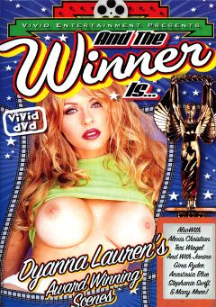 "Adult entertainment movie ""And The Winner Is...Dyanna Lauren"" starring Janine, Dyanna Lauren & Stephanie Swift. Produced by Vivid Entertainment."