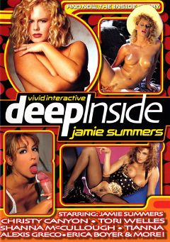 "Adult entertainment movie ""Deep Inside Jamie Summers"" starring Jamie Summers (93 & Earlier), Christy Canyon & Shanna McCullough. Produced by Vivid Entertainment."