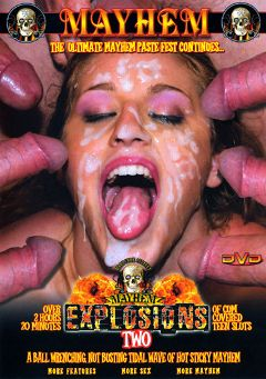"Adult entertainment movie ""Explosions 2"" starring Audrey Hollander, Katja Kassin & Melanie Jagger. Produced by Mayhem XXX."