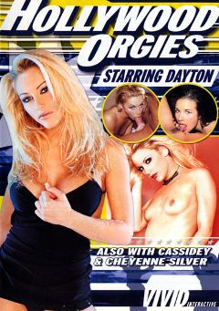 "Adult entertainment movie ""Hollywood Orgies:  Dayton"" starring Taylor Hayes, Dayton Rains & Heather Lee. Produced by Vivid Entertainment."