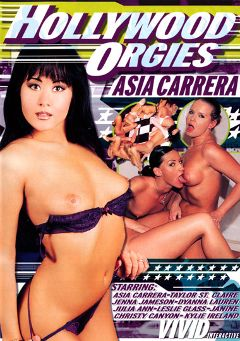 "Adult entertainment movie ""Hollywood Orgies: Asia Carrera"" starring Jenna Jameson, Taylor St. Claire & Asia Carrera. Produced by Vivid Entertainment."