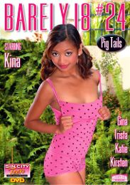 """Featured Series - Barely 18 presents the adult entertainment movie """"Barely 18: 24""""."""