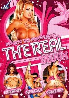 "Adult entertainment movie ""The Real Devon"" starring Savanna Samson, Devon & Nicole Sheridan. Produced by Vivid Entertainment."