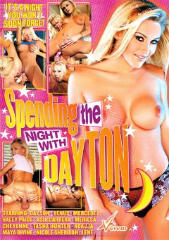 "Adult entertainment movie ""Spending The Night With Dayton"" starring Nicole Sheridan, Dayton Rains & Asia Carrera. Produced by Vivid Entertainment."