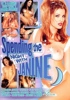 "Adult entertainment movie ""Spending The Night With Janine"" starring Janine Lindemuller, Alex Taylor & Tia Bella. Produced by Vivid Entertainment."