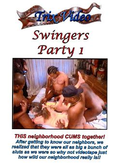 "Adult entertainment movie ""Swingers Party"". Produced by Trix Productions."