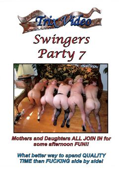"Adult entertainment movie ""Swingers Party 7"". Produced by Trix Productions."